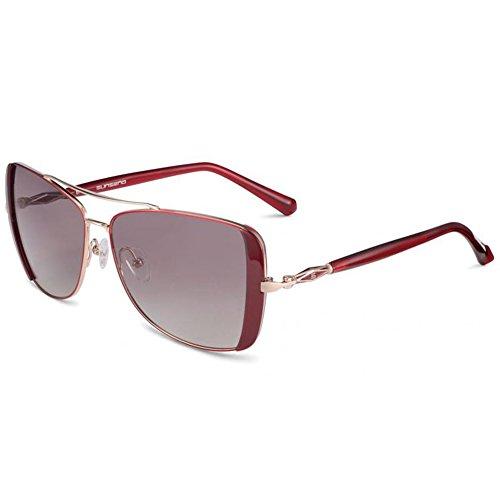 Women's Glasses Jackie O Full Rim Frame Sunglasses (Red Polarized - O Jackie Polarized Sunglasses