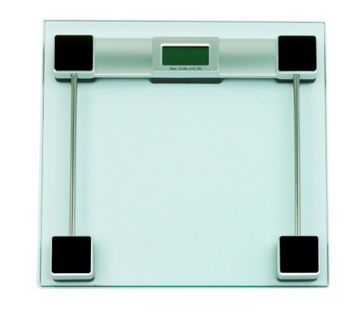 Personal Glass and Chrome Scale – Digital Bathroom Weight Scale, Health Care Stuffs