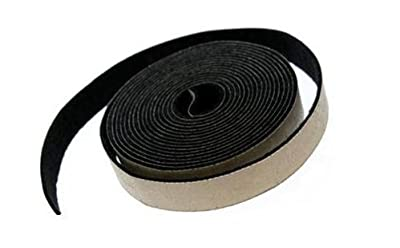 "Adhesive Backed Gray Felt Weather Stripping - 25 Ft Long Roll, 3/16"" Thick and 1"" Wide"