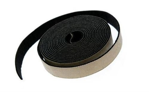 Adhesive Backed Gray Felt Weather Stripping - 25 Ft Long Roll, 3/16