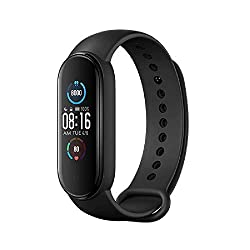 Enchen-Band 5, Fitnesstracker/Smartwatch, Unisex, Schwarz