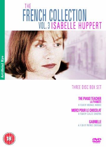 The French Collection Vol. 3 - Isabelle Huppert - 3-DVD Box Set ( La pianiste / Merci pour le chocolat / Trois soires ) ( The Piano Teacher / Ni [ NON-USA FORMAT, PAL, Reg.2 Import - United Kingdom ]