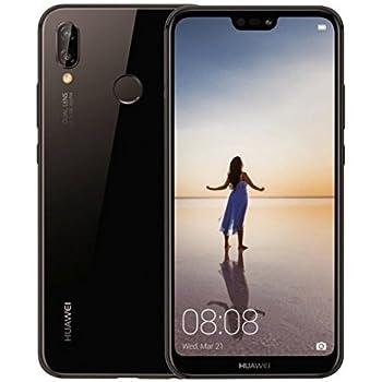 "Huawei P20 Lite Dual Sim 32GB ANE-LX3 Pantalla 5.84"" Camara 16Mpx 4GB RAM Libre de Fabrica Version Internacional, Negro"