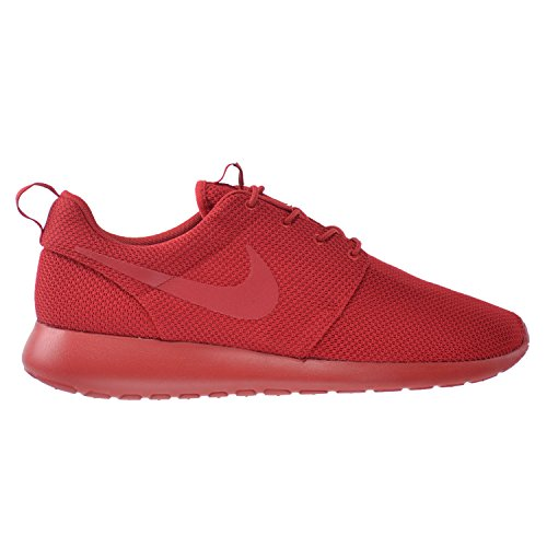 Nike Grey 655206 001 White Print Men's Red Rosherun Varsity gwtRg