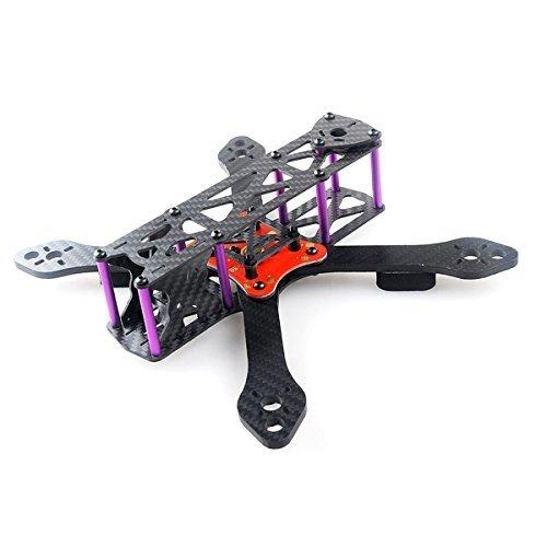 crazepony martian ii rx220 fpv racing drone carbon fiber quadcopter frame like qav210 etc 4mm