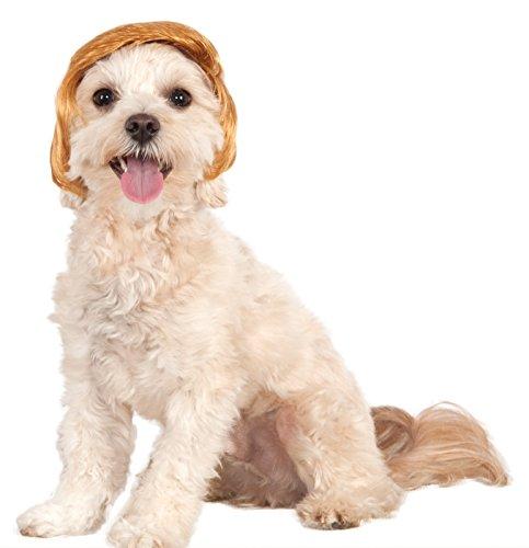 Political Billionaire Wig for Pet, (Billionaire Costume)