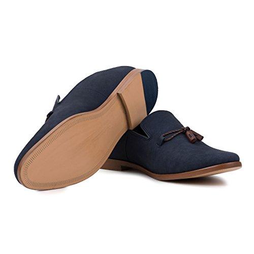für Loafer Schuhe Slip on in Navy Herren Milton Goodwin Smith p1YRxqwR