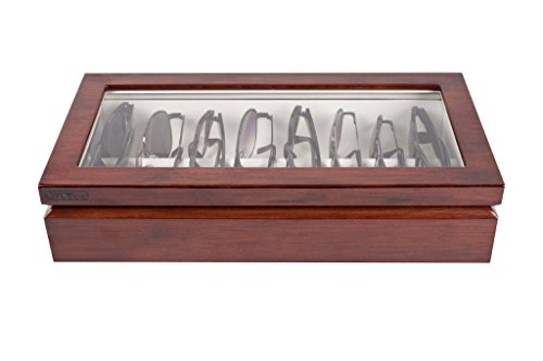 OYOBox Mahogany Luxury Eyewear Organizer by OYOBox