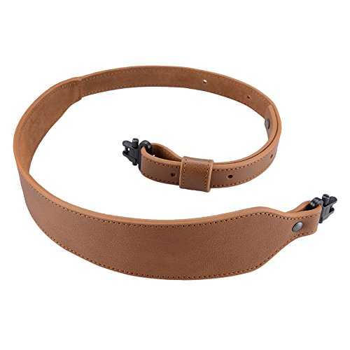 Raiseek Padded Rifle Sling Buffalo Hide Leather Sling, used for sale  Delivered anywhere in USA