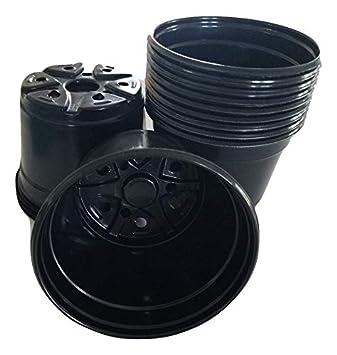 "6"" Diameter Plastic Nursery and Azalea Pot (100)"
