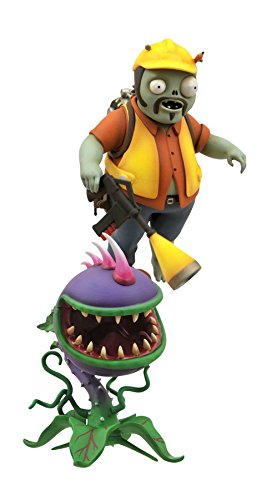 Diamond Select Toys Plants vs. Zombies: Garden Warfare: Engineer Zombie with Turret and