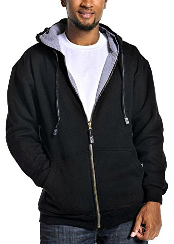 Reversible Zip Hoody Sweatshirt - 1