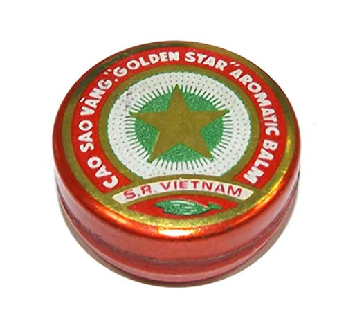 Vintage Cao Sao Vang Golden Star Aromatic Ointment Medicine - Aromatic Ointment