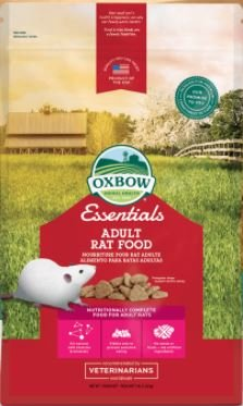 Oxbow's Essentials - Adult Rat Food, 3 lb