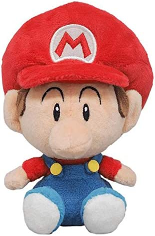 San-ei Boeki Super Mario Toutes Star Collection Peluche Yoshi S