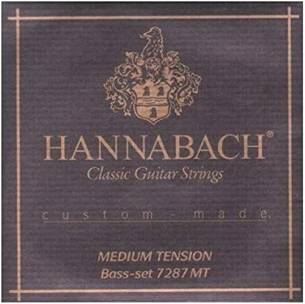 Hannabach Cuerdas Para Guitarra Clasica, Serie 7287 MT Tension ...