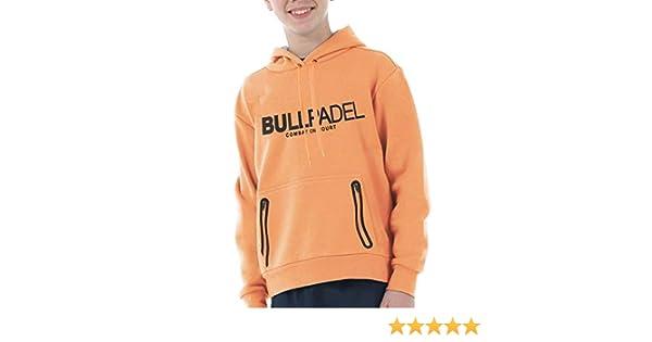Bull padel Sudadera BULLPADEL ORTEX J Naranja Fluor: Amazon.es: Deportes y aire libre