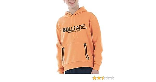 Bull padel Sudadera BULLPADEL ORTEX J Naranja Fluor: Amazon.es ...