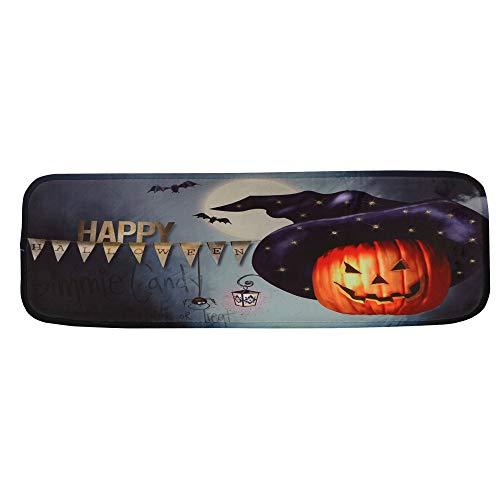 YOcheerful Halloween Stair Mat 7Set StepBasic Horror Printed Sticker Home Decor (F,22cmx70cm) for $<!--$13.99-->