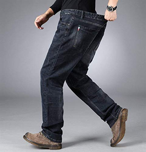 Blaublack Denim A Qk Comodi Stretch Ragazzo lannister Jeans Da Casual Dritta Uomo Gamba Pantaloni Xfwx1qfzO