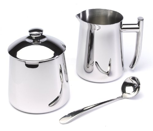 Frieling USA 18/10 Stainless Steel Creamer and Sugar Bowl Set