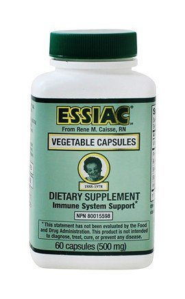 Essiac International Herbal Supplement Capsules, 60 Count