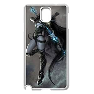 world of warcraft Samsung Galaxy Note 3 Cell Phone Case White yyfD-403413