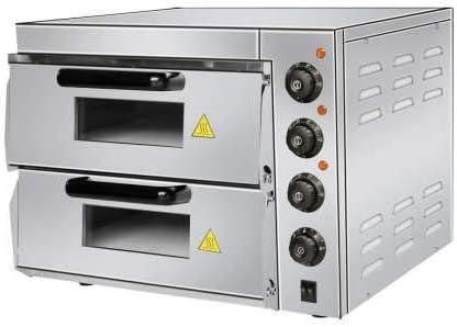 Horno Eléctrico profesional de Pizza Compacto de 560 x570 x440h mm ...