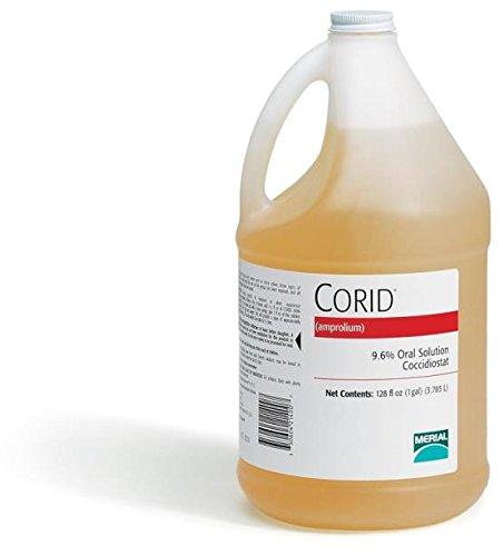 CORID 9.6% ORAL SOLUTION FOR CALVES - 1 GALLON by DavesPestDefense