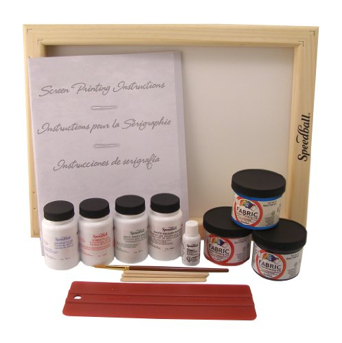 Speedball Super Value Fabric Screen Printing Kit (Silk Screen Frame compare prices)