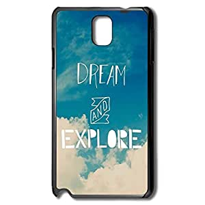 Samsung Note 3 Cases Dream Explore Design Hard Back Cover Cases Desgined By RRG2G