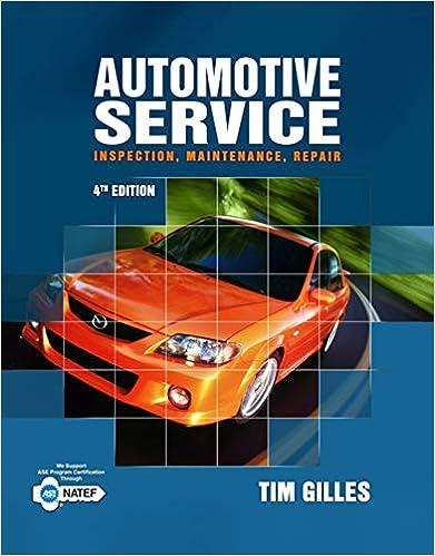 automotive service tim gilles book