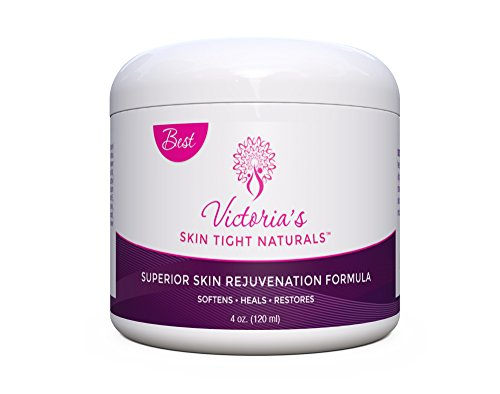 Skin Rejuvenation Formula Hands Knees Elbows Feet Total Body Tighter Smoother Skin Natural Pure Formula Softens Heals Restores Repairs - Includes $29 Skin Rejuvenation Guide Free