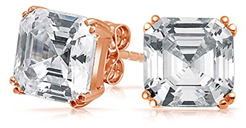 Bling Jewelry Asscher Earrings Sterling product image