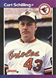 1989 Donruss Baseball Curt Schilling Rookie Card