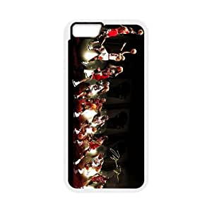 iPhone 6 4.7 Inch Cell Phone Case White Michael Jordan Phone Case Cover Unique Back CZOIEQWMXN4876