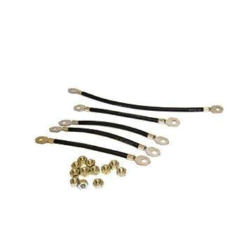 EZGO 608457 6 Guage Battery Wiring Kit For 36 Volt E-Z-GO TXT  sc 1 st  Amazon.com : ez go wiring - yogabreezes.com