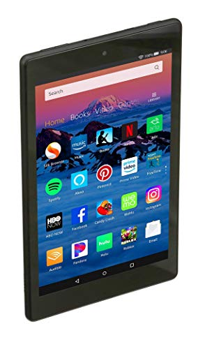 "Fire HD 8 Tablet (8"" HD Display, 16 GB) - Black (Previous Generation - 8th)"