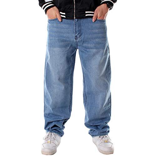 Hip Classic Jeans Danse Hommes Pour Pantalon Exquisite Lumière Denim Yujeet Pantalons Décontractés Hop Vintage Mâle De Urban Bleu En Baggy wxqYXwZF