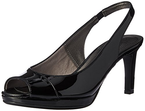 - LifeStride Women's Invest Dress Sandal, Black, 9 M US