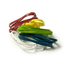 Architec Stretch Cooking Band, 2-Inch, Package 20, Assorted Colors