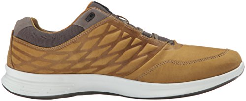 Ecco ECCO EXCEED, Chaussures Multisport Outdoor homme - Jaune (DRIED TOBACCO02424), 46 EU