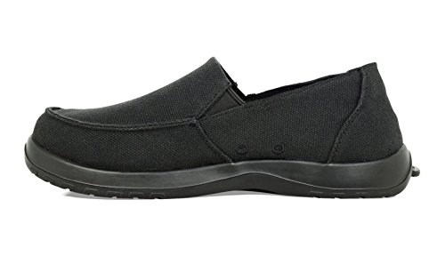 Softscience Mens Frisco Canvas Varen Shoe (voorheen Bekend Als Durango) True Black