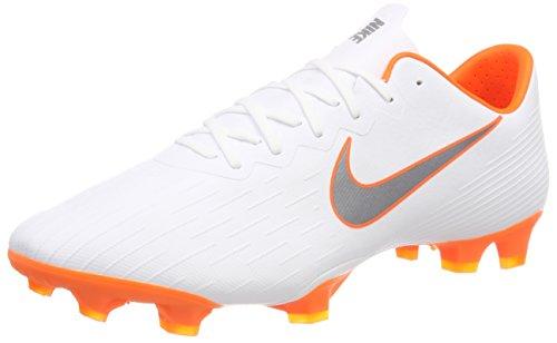da Nike White Calcio 12 Fu 107 Scarpe Mercurial ballschuh PRO Bianco Vapor O total Chrome Uomo Fg TxT8w7