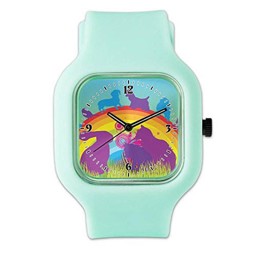 seafoam-fashion-sport-watch-animal-dog-cat-bird-lover-rainbow