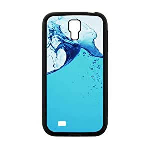 Clear Gusty Water Fashion Personalized Clear Cell Phone Case For Samsung Galaxy S4