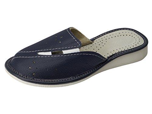 aveego , Damen Hausschuhe, blau - Navy (76I) - Größe: 40 EU