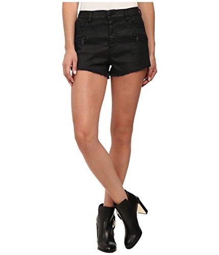 Diesel Women's De-Shozip Shorts in Denim Denim Shorts