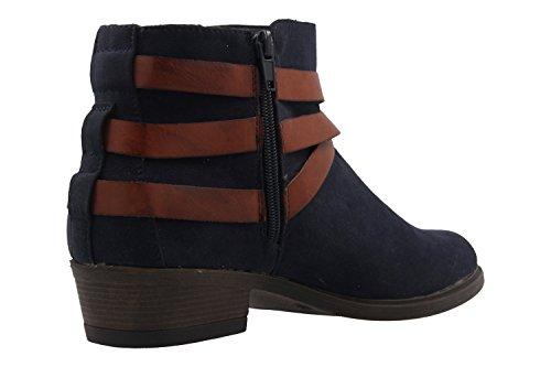 fitters Footwear - Polly - Mujer Botas - Zapatos azules en Tallas Especiales