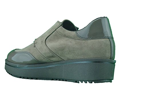 Inart...DONNA Mocassini Sneakers Scarpe Basse Slip On Taupe Tortora Made in Italy